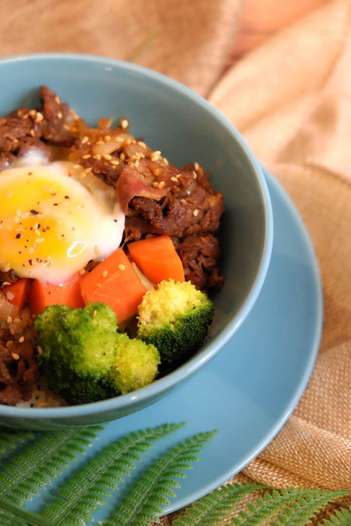 Terriyaki Beef Rice Bowl